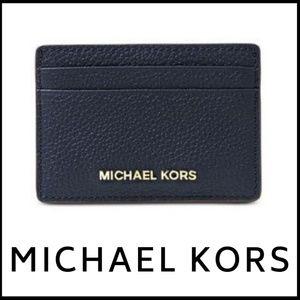 MICHAEL KORS!  NWT -  Pebbled Leather Card Holder